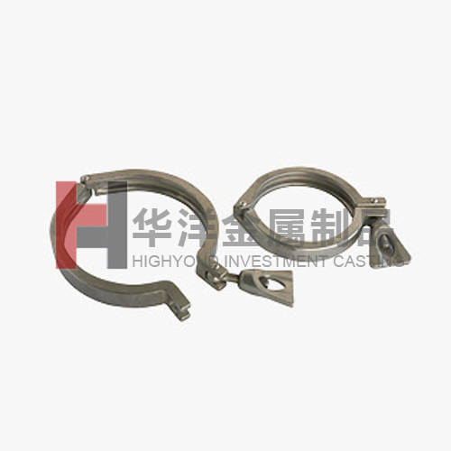 Food Machinery Parts_Port clamp